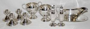 011406 AMERICAN STERLING TABLE WARE 10 PCS