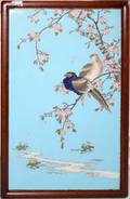 052392 JAPANESE CLOISONN PLAQUE LATE 19TH C 24