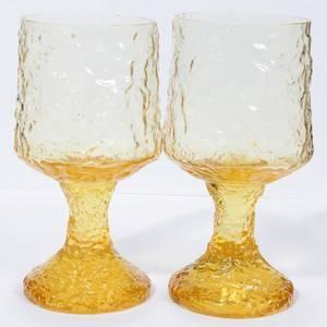 050380 LENOX CRYSTAL WINE GLASSES EIGHT H 6