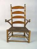 New York or Connecticut William  Mary armchair ca 1740