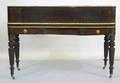 Sheraton mahogany spinet desk