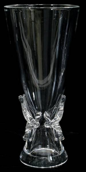 Realized Price For 071321 Steuben Crystal Vase H
