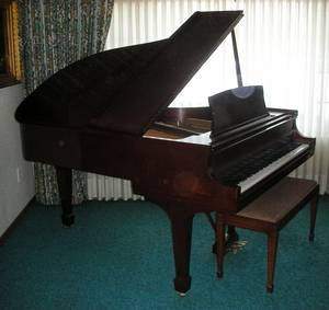 041001 STEINWAY  SONS GRAND PIANO MODEL 362775L