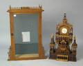 Fretwork watch hutch with case
