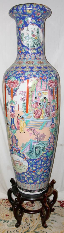 030011 CHINESE PORCELAIN PALACE URN H 69