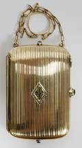 122044 FABERGE 14KT YELLOW GOLD CIGARETTE CASECOMPACT