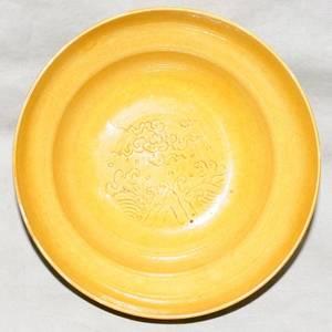 071097 CHINESE PORCELAIN BOWL H 2 DIA 4 78