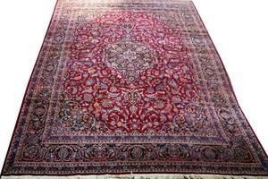102197 SAROUK WOOL ORIENTAL CARPET 14 4 X 10 6