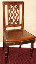 090151 MAHOGANY SIDE CHAIR EARLY 19TH CENTURY