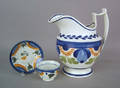 Pearlware pitcher 19th c