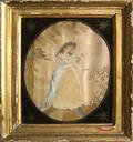 Three English silkwork pictures