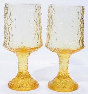 LENOX CRYSTAL WATER GLASSES SEVEN H 7