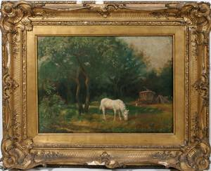 092271 ENGLISH OIL ON CANVAS LATE 19TH CENTURY 14