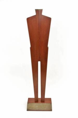 Large Modern Abstract Wood Sculpture