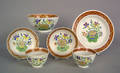 Group of pearlware 19th c