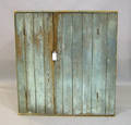 Painted pine wall cupboard