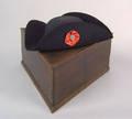 Pennsylvania walnut tricorner hat box ca 1770