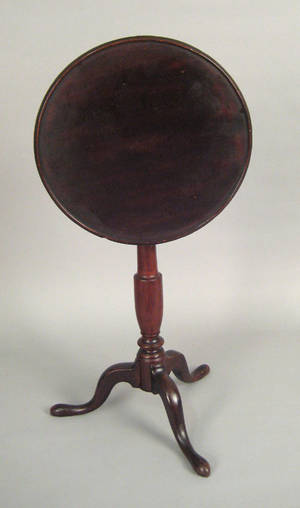 Pennsylvania cherry candlestand late 18th c