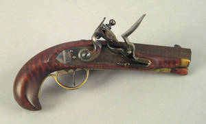 Realized price for Turkish flintlock pistol, early 19th