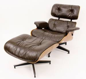 Eames Rosewood Lounge Chair  Ottoman