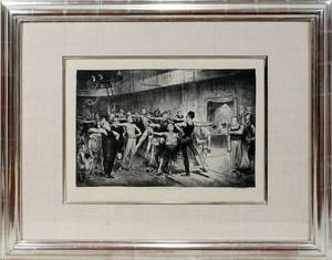 062008 GEORGE BELLOWS LITHOGRAPH NO 11 11 X 17