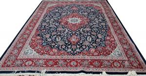 122095 HAND WOVEN PERSIAN CARPET RED 9 X 12