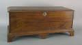 Pennsylvania walnut diminutive blanket chest late 18th c