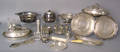 Group of silver and silver plate