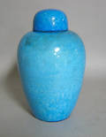 American Art Clay Co covered jar