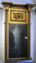 Late Federal giltwood mirror