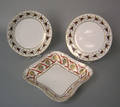 Pair of Worcester plates ca 1800