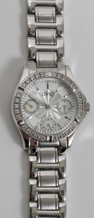 110201 DMQ CHRONOMETER WRIST WATCH JAPANESE MOVEMENT