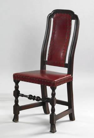 Boston Massachusetts William  Mary maple dining chair ca 1730
