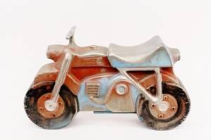 Gametime Inc Cast Aluminum Motorcycle