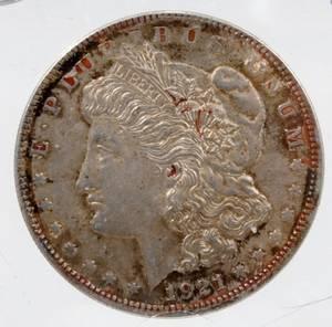 120292 US MORGAN STERLING SILVER 1 DOLLAR COIN