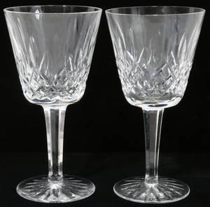 111412 WATERFORD LISMORE CRYSTAL CLARET WINES