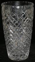 112343 WATERFORD CRYSTAL VASE H 9 34