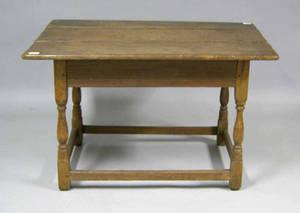 New England pine tavern table