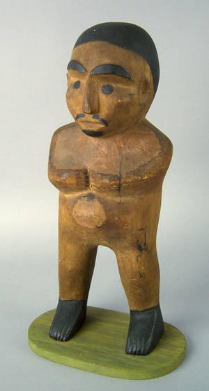 Northwest Coast carved effigy figure early 20th c