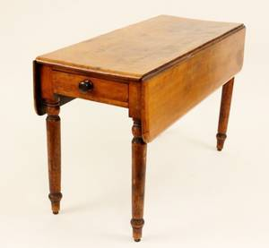 American Cherry Pembroke Table