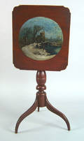 Pennsylvania Federal cherry candlestand early 19th c