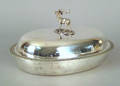New York silver entree dish by Ball Black  Co