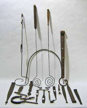 Pennsylvania wrought iron hardware
