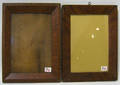 Two paint decorated frames