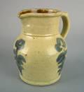 Pennsylvania stoneware pitcher late 19th c