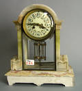 French Japy Freres mantle clock