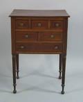Pennsylvania Federal mahogany work table 19th c