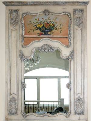112140 NEOCLASSICAL STYLE MIRROR H74 W52
