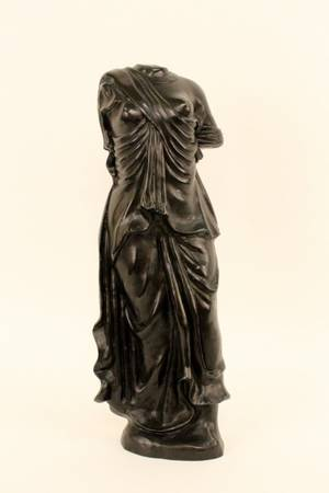 Cast Bronze Sculpture in Form of a Classical Torso