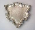 Georgian silver salver 17371738